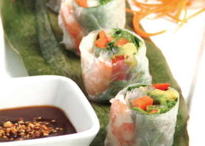 Cold Shrimp Roll